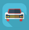 flat modern design with shadow icons car vector image vector image