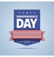 Independence day badge vector image vector image