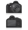 photo camera 03 vector image vector image