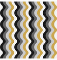 seamless striped wavy pattern stylish vector image vector image