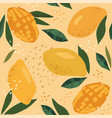 abstract seamless patterns with exotic fruits