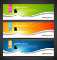 Banner design tablet vector image