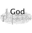 bible studies for teens vector image vector image