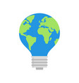 earth day concept for green energy conservation vector image