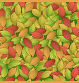 nature abstract colorful seamess pattern vector image vector image