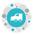 of transportation symbol on vector image vector image