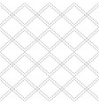 seamless black and white pattern with contour vector image vector image