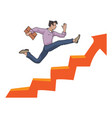 the rapid way to success vector image