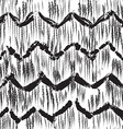 Sketchy hand drawn abstract seamless pattern vector image