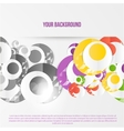 Abstract circles template Object web