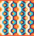 background mid-century modern art abstract vector image vector image