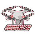 drone logos badges emblems and design elements vector image vector image