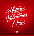happy valentines day wallpaper vector image