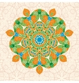 mandala ornament with space for your text image vector image vector image