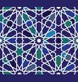 moroccan islamic style geometric tile pattern