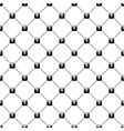 Seamless simple pattern with hipster camera vector image