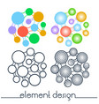 set design element vector image