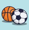 soccer equipment design vector image vector image
