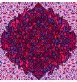 violet seamless pattern mandala background vector image vector image