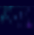 Abstract halftone pattern motion effect with