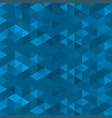 abstract polygonal pattern triangles geometric vector image vector image