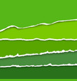 background with collection of green colors vector image