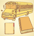 Education Bus vector image