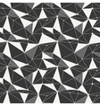 Geometric line hipster seamless pattern with vector image vector image