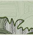 green texture vector image vector image