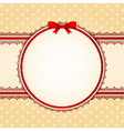 lace ornaments on background vector image