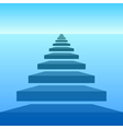 Steps vector image