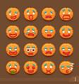 smiley cookies vector image
