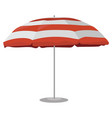 a beach umbrella cartoon drawing vector image