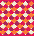 Abstract geometric rhombus seamless pattern