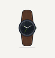 Analog watch vector image