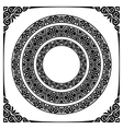 circle frames vector image