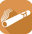Cuban Cigar Icon vector image vector image