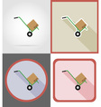 delivery flat icons 14 vector image vector image