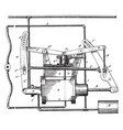 fluid pressure brake apparatus vintage vector image vector image