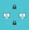 Internet security and system protection concept