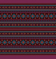 knitted indian rug paisley ornament seamless vector image
