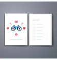 Modern social search and discovery flat icons
