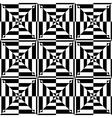 op art seamless design vector image vector image
