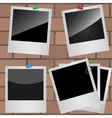 Photo frames vector image