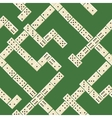 Seamless domino pattern vector image vector image