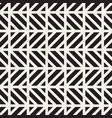 seamless pattern stylish monochrome background vector image