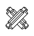 Sign letter x