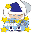 Starbright vector image vector image