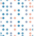 abstract polka dot line pattern vector image vector image