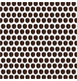 coffee grains seeds pattern vector image